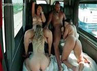 Garotas da Van com Patricia Kimberly e Alessandra Marques
