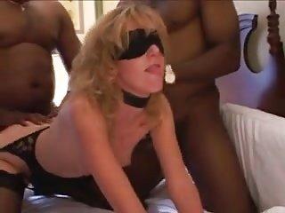 Gangbang surpresa para a esposa safada